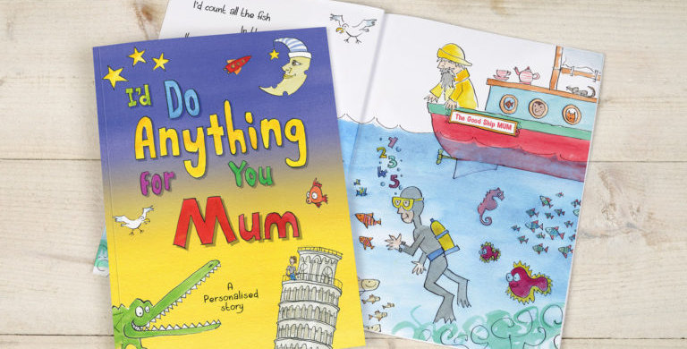 mother's day gift Tell your Mum all the lovely things you would do for her in this cute little book