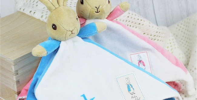 Peter or Flopsy Bunny Snuggle Blanket