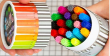 Artist set of 20 wash out pens - great for kids crafts