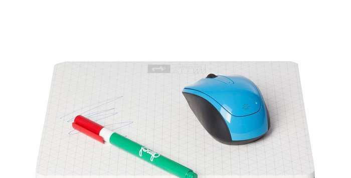 Memo Mouse Pad - White