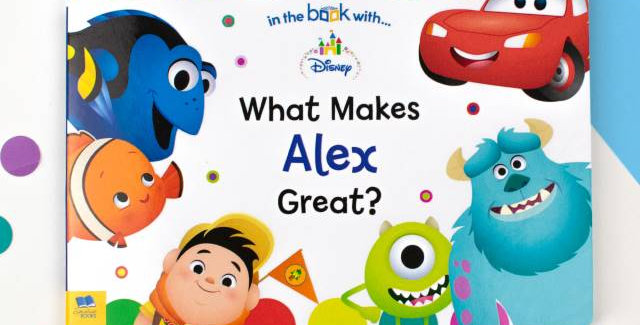 what makes alex great personalised book