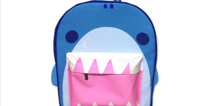 Shark mouth backpack