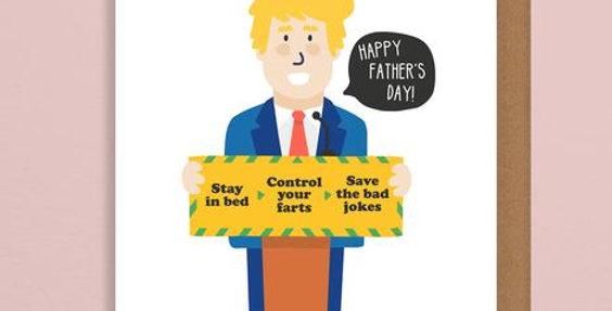 Boris Fathers Day Card