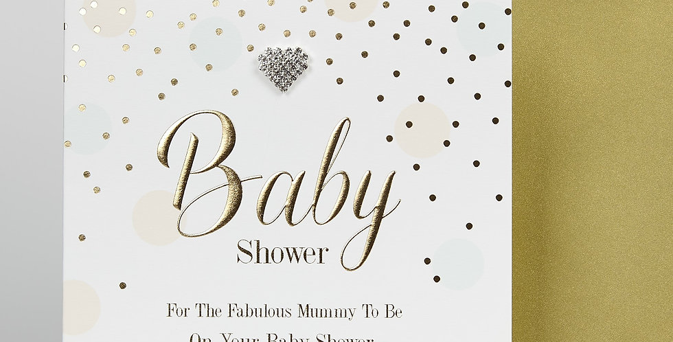 Baby Shower Card for the Fabulous Mummy