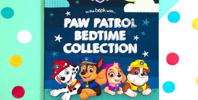personalised paw patrol book