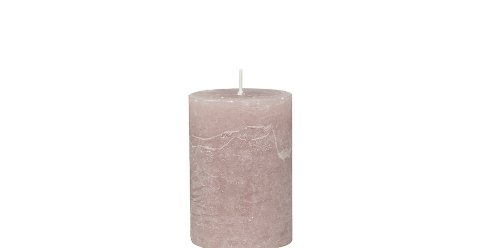 40 hour taupe coloured rustic style candle