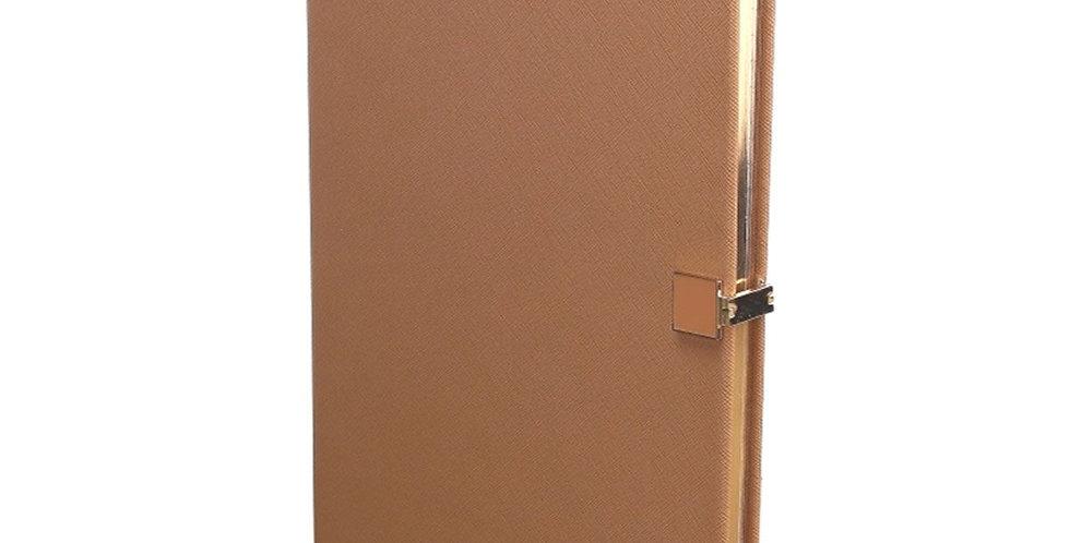 Tan & Gold A4 Notebook