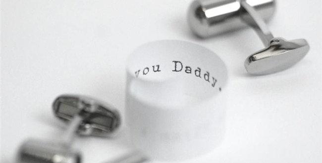 Deluxe Secret Message Cufflinks