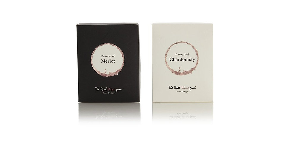 Chardonnay and Merlot flavoured wine gums