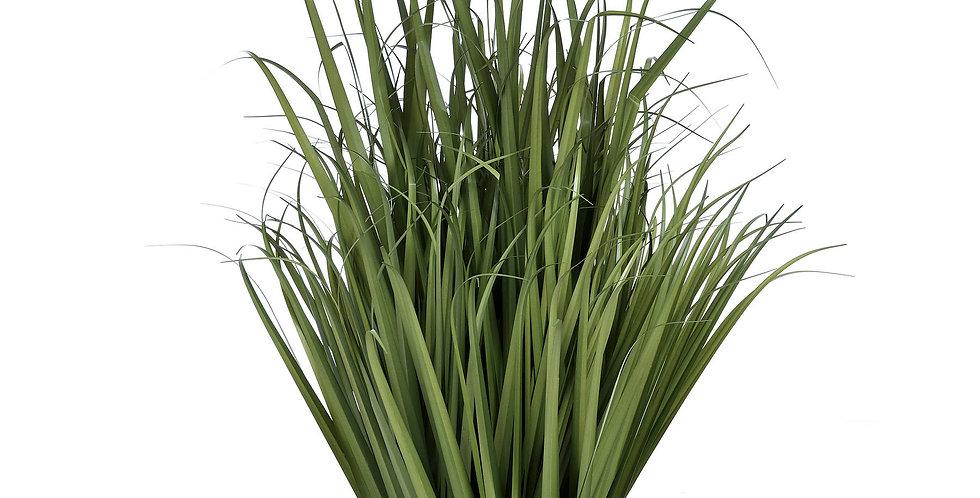 faux large field grass in pot