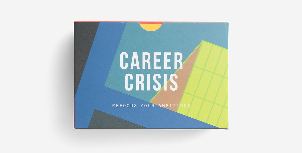 60 prompt cards designed to help you work through moments of career crisis.