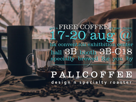 Enjoy a Free Cup on 17-20 Aug at HKTDC Food Expo! (Open for public)