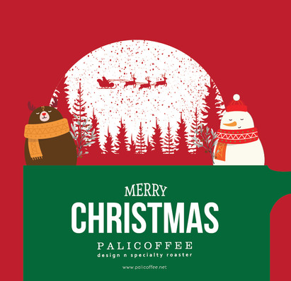 Palicoffee Wish You A Happy Holiday
