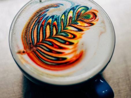 Rainbow Latte Art, an appetizing or de-appetizing trend?
