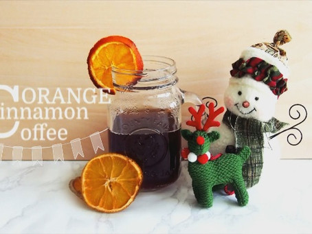 Christmas Morning Cup Orange Cinnamon Coffee