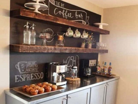 Coffee Station To Warm Your Guests During The Lunar New Year
