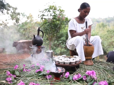 Origin of the Origin, The Most Traditional Tradition of Coffee, Ethiopian Coffee Ceremony