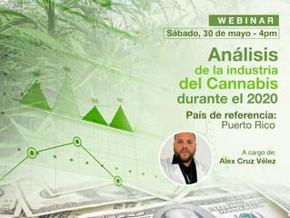 """Webinar """"Análisis de la industria del cannabis durante el 2020"""""""