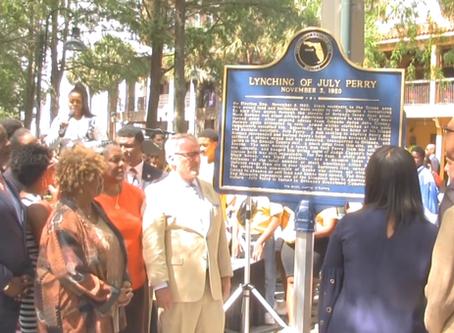 Why is Ocoee celebrating its lynching history?