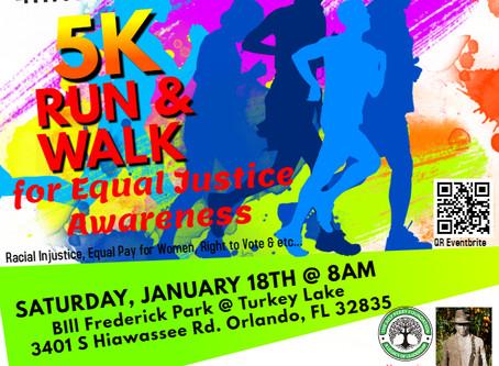 Central Florida Steppers 5K Walk & Run