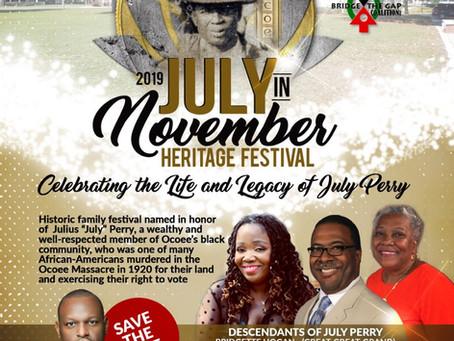 July In November Festival