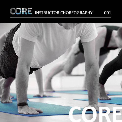 CORE | Instructor Choreography
