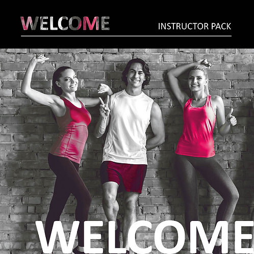 WELCOME | Instructor Welcome Pack