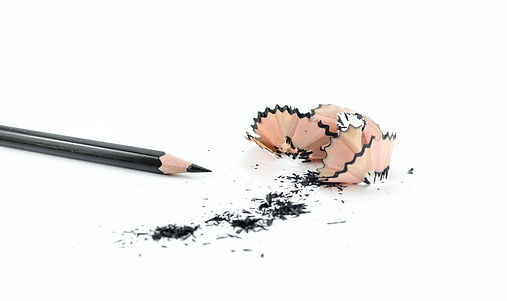 ołówek i wióry