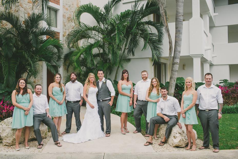 Chad Ashley Mexico Wedding-C A Bridal Pa