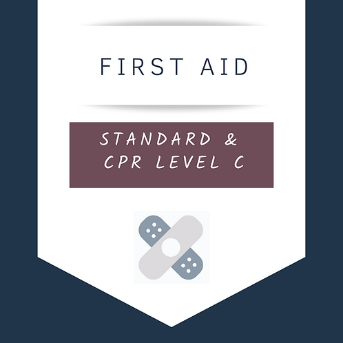 Standard First Aid & CPR Level C