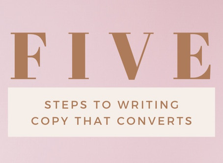 HOW TO WRITE COPY THAT CONVERTS