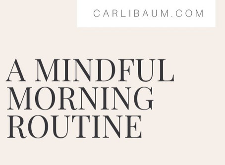 A Mindful Morning Routine for Mothers