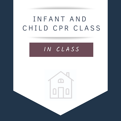 Infant & Child CPR Class