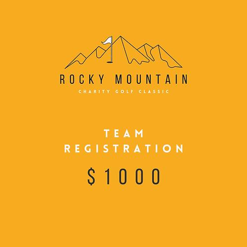 Team Registration (4 Players)