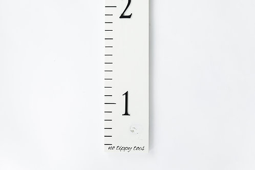 3D Growth Chart No Tippy Toes