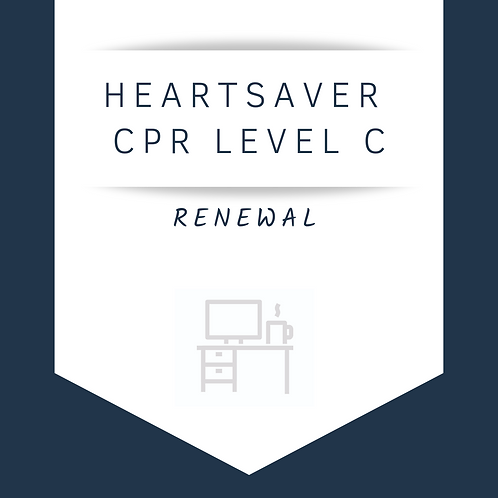 Heartsaver® CPR AED Level C Renewal