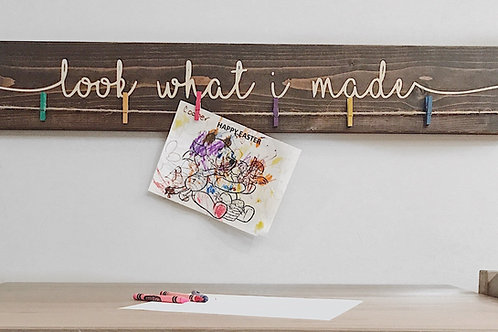 "36"" Kid's Art Display Sign"