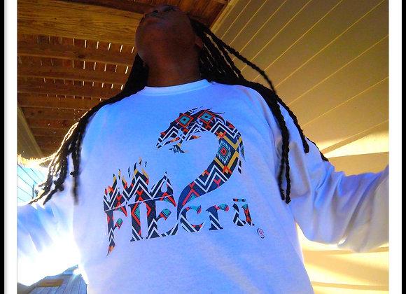 crū Tribal Pattern Long Sleeve Tee