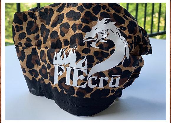 FIEcrū x MaskON! Leopard Print Mask w/filter