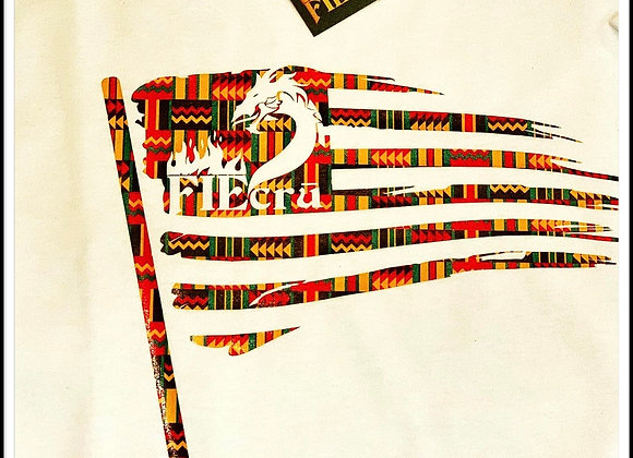 FIEcrū Flag Kente Pattern
