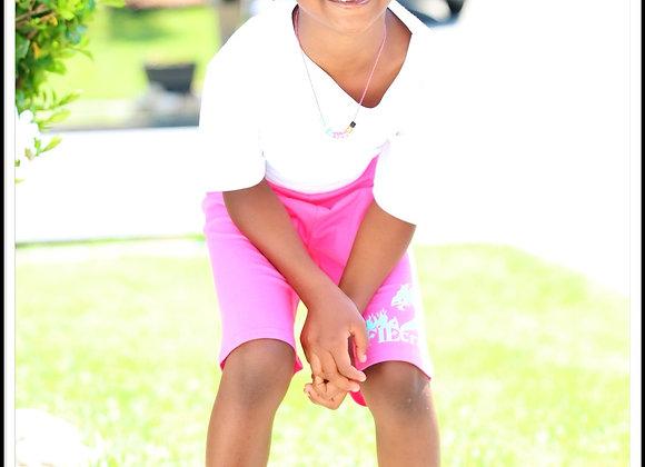 crū Kidz Biker Shorts and Tee Set (Youth Girls)