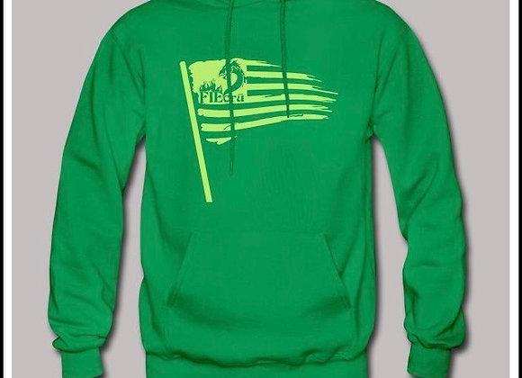 Greenlight crū Flag Hoodie
