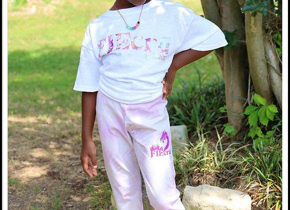 crū Kidz Tye Dye Legging and Tee (Youth Girls)