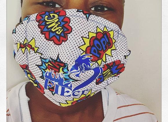 FIEcrū x #MaskON! Kids Mask w/filter