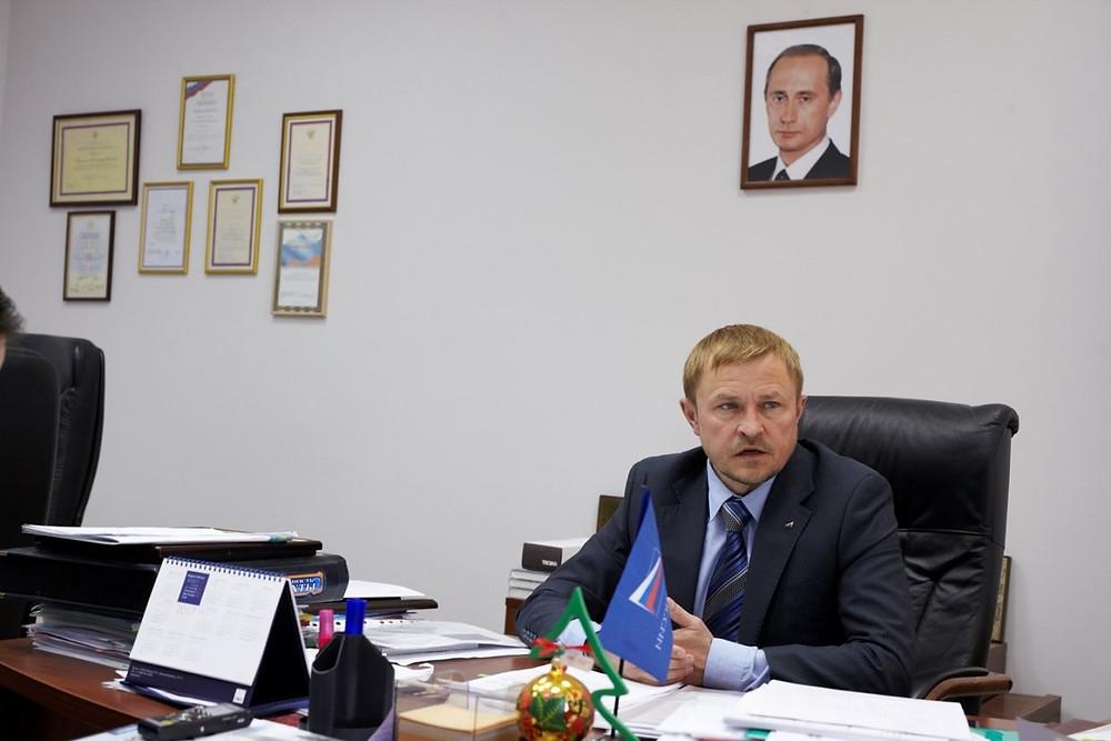 """Александр Калинин,президент """"ОПОРЫ РОССИИ"""""""