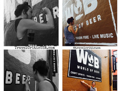 Recreating Brick Ads in the Warehouse District - World of Beer New Orleans