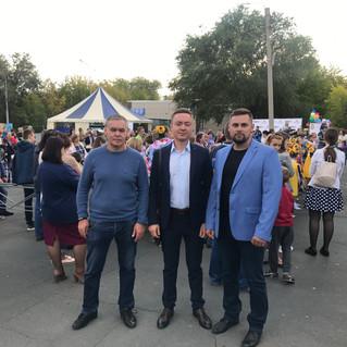 В Орске впервые состоялся «Парад школьников»