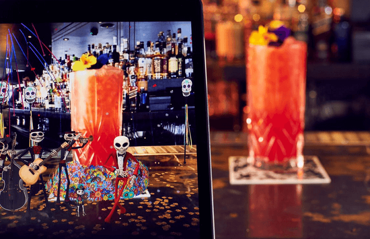 10 USE CASES OF USING AR FOR BEVERAGE INDUSTRY