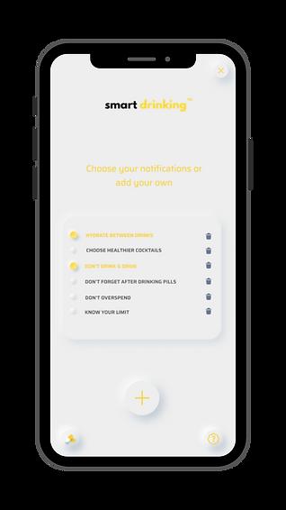 Smart Drinking Reminder App
