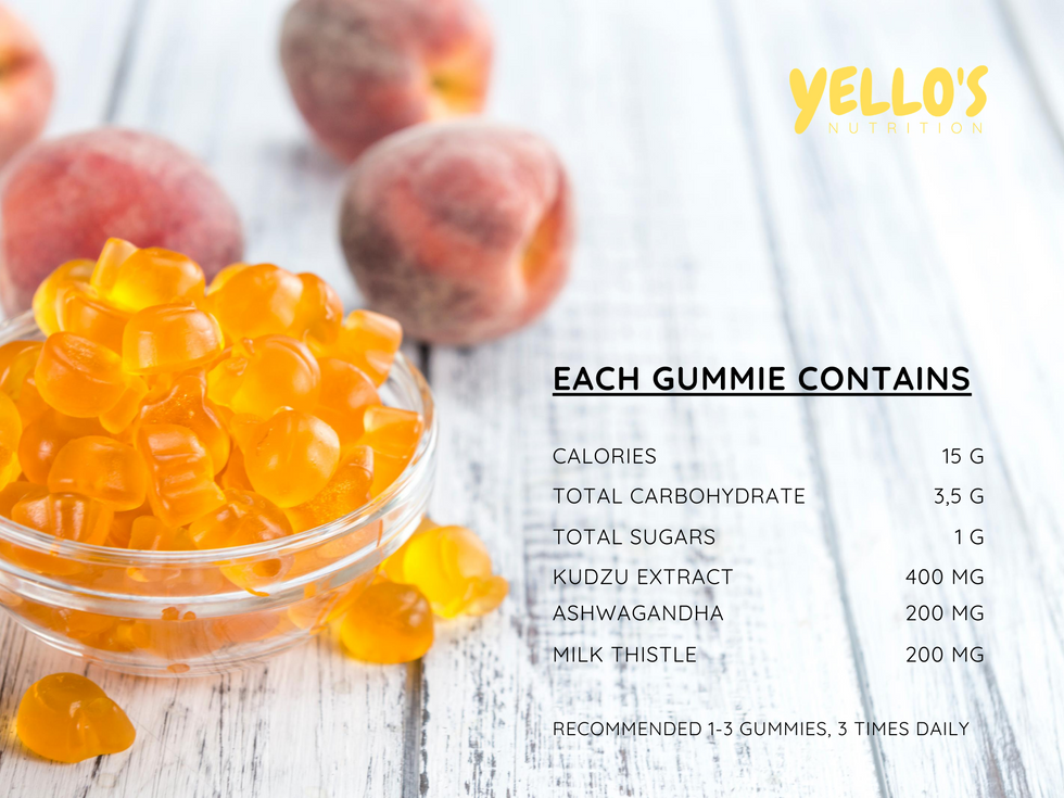 Yellos gummie contains.png